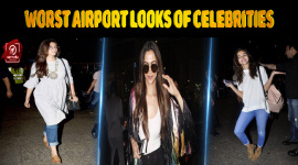 Top 10 Worst Airport Looks Of Celebrities
