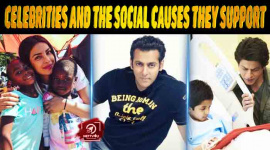Top Ten Celebrities And The Social Causes They Support