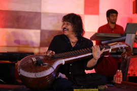 Veena Maestro Rajesh Vaidhya Honoured By Asia Book Of Records Photos