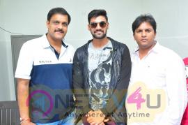 Saakshyam Movie Team Success Tour Tirumala 70MM At Nalgonda Pics