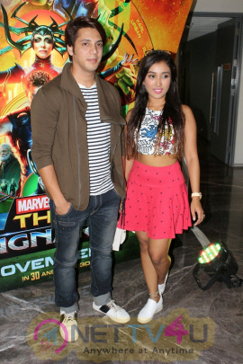 Rithvik Dhanjani, Asha Negi & Raqesh Vashisth At Special Screening Of Film Thor Ragnarok Pics Hindi Gallery