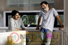 Agnyaathavaasi Movie Working Photos Telugu Gallery