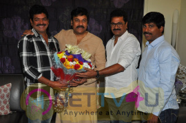 Mega Star Chiranjeevi New Year Wishes To Murali Mohan MAA Images Telugu Gallery