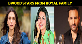 10 Bollywood Stars Who Are From Royal Family