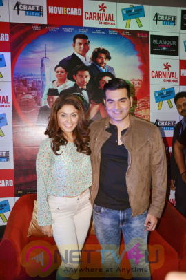 Arbaaz And Manjari Promoted Their Film Jeena Isi Ka Naam Hai At Carnival Cinemas Rave Moti Mall In Kanpur Stills Hindi Gallery