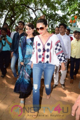 Gauri Khan Inauguration Of Mumbai Beautification Project By Nana Chudasama