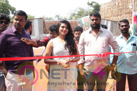 Actress Indhuja Inaugurated Water World Images