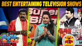 Top 10 Best Entertaining Television Shows In Kollywood