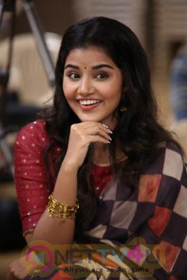 Anupama Parameswaran About Tej I Love You Movie Interview Stills  Telugu Gallery