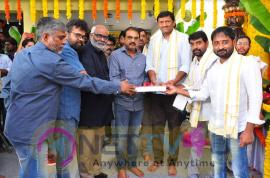 Dear Comrade Movie Pooja Stills Telugu Gallery