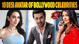 Top 10 Desi Avatar Of Bollywood Celebrities