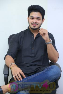 Actor Naga Anvesh Interview  Stills