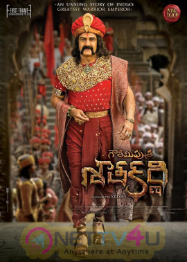 Gautamiputra Satakarni Movie New Looking Poster Telugu Gallery