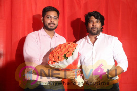 Venkatapuram Movie Logo Launch Perfect Stills Telugu Gallery