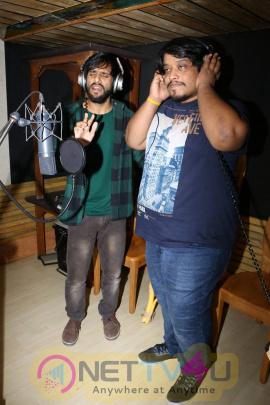 Kashmir Hame Lauta Do Song Recording By Ehsan Asgar & Divya Kumar Stills Telugu Gallery
