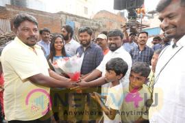 Irandam Ulaga Porin Kadaisi Kundu Movie Starting Images Tamil Gallery