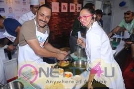 Rahul Bose Participate & Maria Goretti Judging Of Pasta Party At BKC Pics
