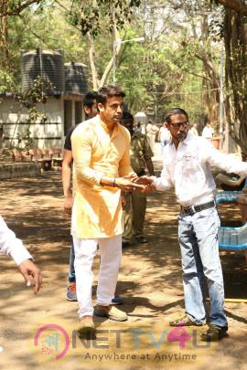 Funeral Ceremony Of Suniel Shetty Father Veerappa Shetty Pics