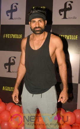 Aabid Husan New Gym Launch Fitzville With Celebs  Hindi Gallery