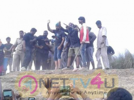 Kannada Movie KGF Working Images