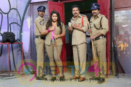 Rakshaka Bhatudu Movie Working Stills