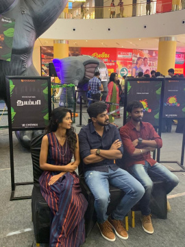 Thumbaa Team At Hakuna Matata Special Kids Jungle Mania Event At VR Chennai Pics