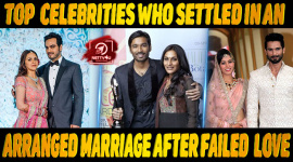 Top 10 Celebrities Who Settled In An Arranged Marriage After Failed Love