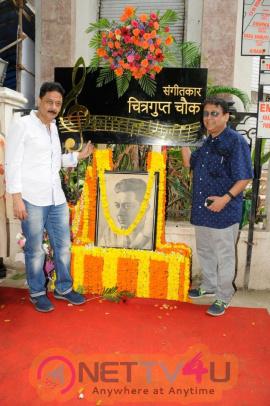 Chitragupta Chowk On The Occasion Of 101 Birthday Centenary Pics Hindi Gallery
