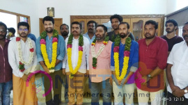 Jango Movie Pooja Stills Tamil Gallery