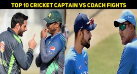 Top 10 Cricket Captain Vs Coach Fights