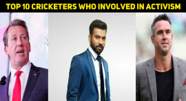 Top 10 Cricketers Who Involved In Activism