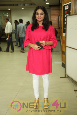 Actress Arundhathi Nair At Bethaludu Movie Success Meet Cute Stills