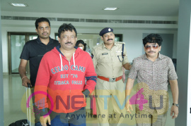 RAm Gopal Varma At Vijayawada To Meet Vangaveeti And Devineni Families photos