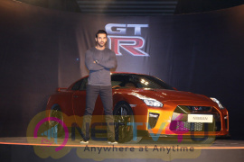 John Abraham At Launch Of Year's Much Awaited Car NISSAN GTR Beautiful  Hindi Gallery