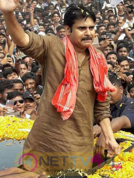 Ichapuram Janasena Meeting Exclusive Photos  Tamil Gallery