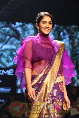 Adah Sharma Walk Showstopper For Galang Gabaan Lakme Fashion Week 2017 Photos Hindi Gallery