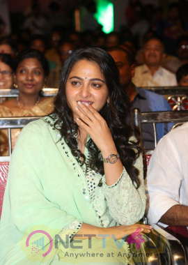 Anushka Shetty At Show Time Audio Launch Attractive Photos