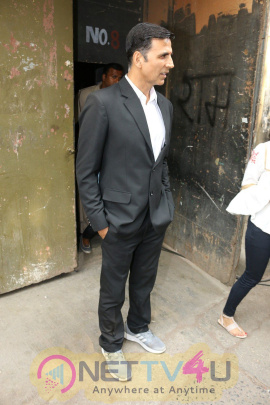 Spotted Akshay Kumar Promots Jolly LL.B 2 Pics Hindi Gallery