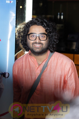 Music Launch Of Film Poorna With Arjit Singh & Ustad Zakir Hussain Fascinating Photos