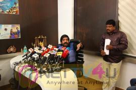 T. Rajendar Press Meet Excellent Stills Tamil Gallery