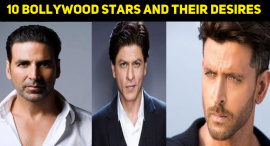 10 Bollywood Stars And Their Desires