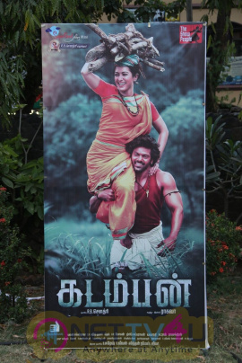 Kadamban Tamil Movie Press Meet Exclusive Stills Tamil Gallery