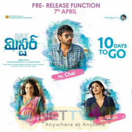 Mister Movie 10 Days To Go Stunning Posters Telugu Gallery