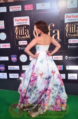 Pranitha Subhash Ultra Hot Pics At IIFA Utsavam Awards 2017 Telugu Gallery