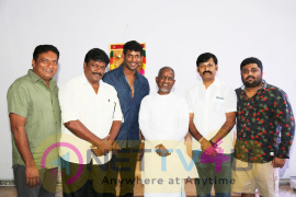 Tamil Film Producer Council Office Bearers Meet Isainan Ilayaraja Photos Tamil Gallery