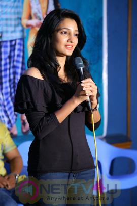 Deepthi Shetty And Sriramudinta Srikrishnudanta Trailer Launch Stills Telugu Gallery