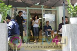 Jhanvi Kapoor Came To Cafe  Hindi Gallery