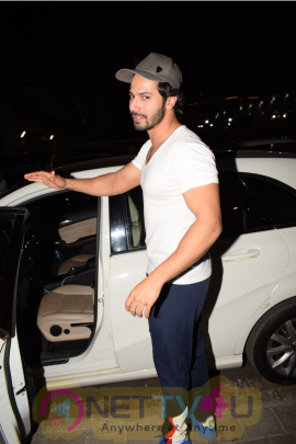 Varun Dhawan Came To PVR Theater Juhu