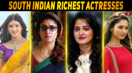 Top 10 South Indian Richest Actresses Of 2016