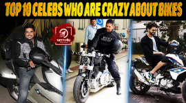 Top 10 Celebs Who Are Crazy About Bikes